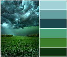 Green/Gray-Colorscheme