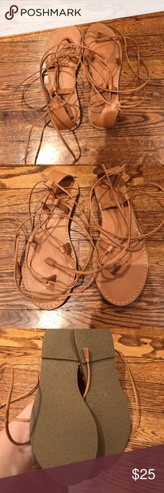 Madewell Gladiator Sandals Size 7 excellent condition Madewell Shoes Sandals