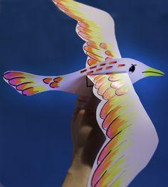 Paper seagulls