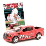 ST LOUIS CARDINALS Limited Edition Ford SVT Adrenalin Concept Pick-Up Truck Diecast Collectible WITH Trading Card - http://shopattonys.com/st-louis-cardinals-limited-edition-ford-svt-adrenalin-concept-pick-up-truck-diecast-collectible-with-trading-card/