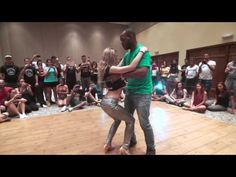 ▶ Leo and Becky Neves - Zouk Demo at FIEL 2014 - YouTube