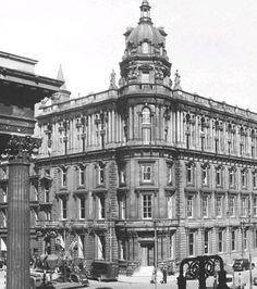 Past & Present Pictures Pedestrian Crossing, Glasgow Scotland, Past, Louvre, Street, City, Building, Pictures, Travel