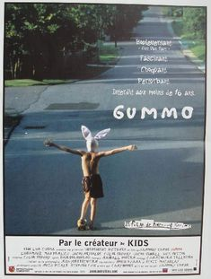 Gummo is a 1997 American dystopian art film written and directed by Harmony Korine, starring Jacob Reynolds, Nick Sutton, Jacob Sewell, and Chloë Sevigny. Beau Film, Movies To Watch, Good Movies, 4 Movies, Movie Poster Template, Alfred Hitchcock, Harmony Korine, Movie Posters For Sale, Beautiful Film