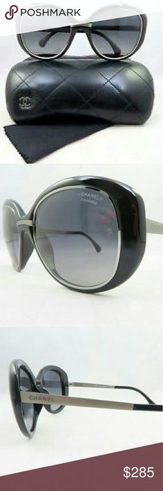 Chanel Polarized Sunglasses New and authentic  Chanel Polarized Sunglasses  Black frame  Includes original case Chanel  Accessories Glasses