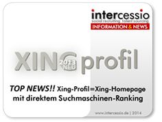 Top News! Das Xing-Profil wurde zur Xing-Homepage – mit direkter Suchmaschinen-Wirkung! #Xing