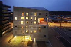 Moradia Estudantil no Porto de Aarhus,Cortesia de CUBO Arkitekter + TERROIR