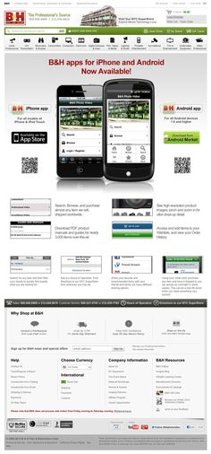mobile apps page i designed a while back.