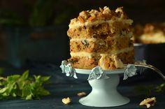 Ciasto marchewkowe i sernik gotowany - świąteczne - niebo na talerzu Cauliflower, Vegetables, Cake, Pineapple, Pie, Cauliflowers, Kuchen, Veggie Food, Cakes