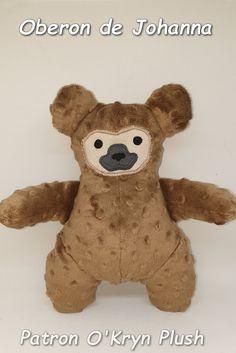 Oberon de Johanna en minky à pois Teddy Bear, Animals, Plush, Model Face, Cuddling, Printable, Bears, Animales, Animaux