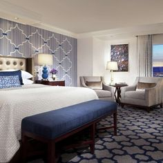 Book a retreat in one of the exquisite rooms or suites of Bellagio Las Vegas, a AAA Five Diamond Resort & Casino on The Strip. View the rooms, suites, and services available to our guests.