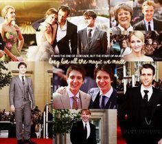 I love Harry Potter. I always will.
