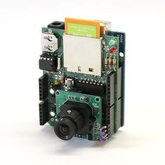 """Here's our Arduino based """"Internet of Things"""" camera. It's a simple remote monitoring using the Eye-Fi wireless SD card and Adafruit Data Logging Shield for Arduino. The Eye-Fi card is a tiny wirel..."""