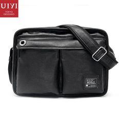 abf22dce3c6 Uiyi fashion men pu leather handbag business shoulder man... Handbags For  Men,