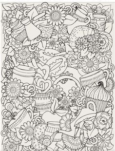 Adult Coloring Book | Art Therapy Volume 3 - Printable Coloring Book ...