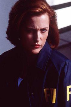 Dana Scully gespielt von Gillian Anderson