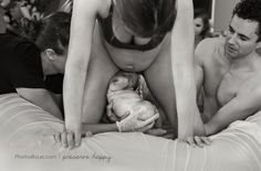 """Photographer Leilani Rogers feels watching a baby come into this world is a """"heavenly experience,"""" and along her way to capturing 50 births she's witnessed tender moments as well as seen things that are extraordinary and unusual."""
