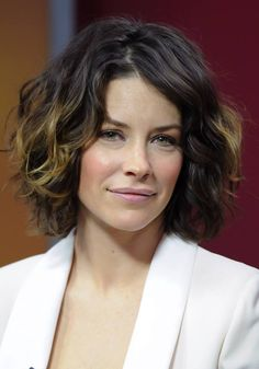 Evangeline Lilly Official FB. What my hair would look like if it was short.