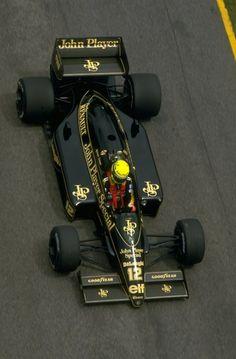Ayrton Senna - Lotus 97T 98T / jacarepagua (1986)