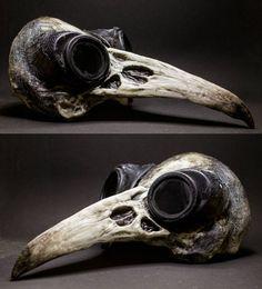 "305 Likes, 6 Comments - Francesco Sanseverino MakeUp (@francescosanseverinomakeup) on Instagram: ""Crow skull mask - Mad Max project! #mask #skull #madmax """