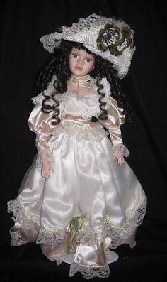 Victorian Style Porcelain Dolls Collectors Dolls Antique Dolls Costume Dolls | eBay