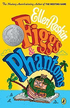 Figgs & Phantoms, 1975 Newbery Medal Honor winner, Ellen Raskin #childrensbooks #GoodReads #Books