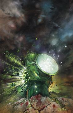 War of the Green Lanterns Aftermath (Okay so this isn't fanart, is it? But it is classy. Probably one of the best comic covers ever.)