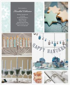 Hanukkah Celebration Inspiration Board, got distracted!!