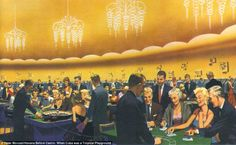 Meyer Lansky's new Riviera casino as rendered in an eclectic mix of the rich and famous enjoyed Havana's gambling culture Travel News, Time Travel, Albert Anastasia, Cuba Culture, Havana Hotels, Our Man In Havana, Mob Rules, Century Hotel, Graham Greene