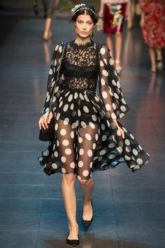 Dolce & Gabbana / Domenico Dolce & Stefano Gabbana // SS14 / RTW // MFW // Ph: Yannis Vlamos // Ft: Larissa Hoffman