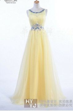 Straps   Floor-length Chiffon/Tulle  Bridesmaid Dress. $137.00, via Etsy.  Just need to decide on a color!