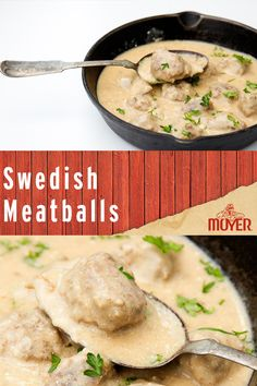 Homemade Swedish Meatballs: a go-to weeknight dish by Coupon Cutting Mom. Swedish Meatball Recipes, Swedish Recipes, Meat Recipes, Dinner Recipes, Cooking Recipes, Healthy Recipes, Tasty Meatballs, Sweedish Meatballs, Beef Dishes