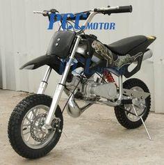 Scott's future firts dirt bike (L)