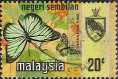 Malaya Negri Sembilan 1971 SG 97 Butterflies Fine Used Scott 91 Other Asian and British Commonwealth Stamps HERE!