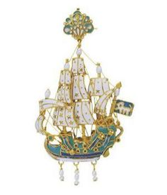 Подвески в виде кораблей, XVI-XVIII вв.