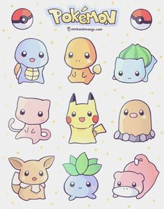 Find images and videos about kawaii, pokemon and pikachu on We Heart It - the app to get lost in what you love.