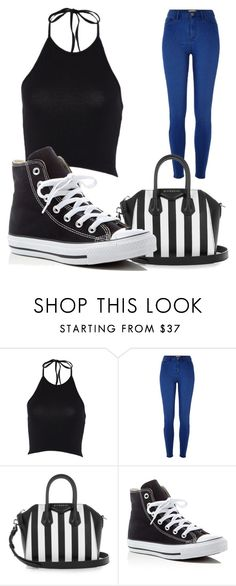 """Casually Girl"" by agnes1806 ❤ liked on Polyvore featuring River Island, Givenchy and Converse"