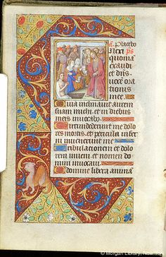 Book of Hours, MS M.179 fol. 132v - Images from Medieval and Renaissance Manuscripts - The Morgan Library & Museum