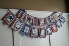Patriotic Banner Freedom Banner Patriotic by iheartprettypapers, $25.00