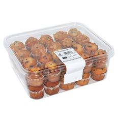 Member's Mark Blueberry and Chocolate Chip Mini Muffins ct. Mini Chocolate Chip Muffins, Mini Muffins, Mini Sala, Comida Disney, Cereal Recipes, Food Packaging, Vegan Dishes, Aesthetic Food, Food Cravings