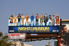 Night at the Museum: Battle of Smithsonian movie billboard