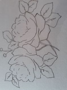 Para pinceladas Lotus Painting, Fabric Painting, Painting & Drawing, Sketchbook Drawings, Easy Drawings, Bed Sheet Painting Design, Fabric Paint Designs, Flower Sketches, Counted Cross Stitch Patterns