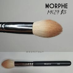 A @dupethat favorite from Morphe  The M529  Follow them to read a mini review of this beautiful brush from the Flawless Collection  #morphegirl #morphebrushes by morphebrushes