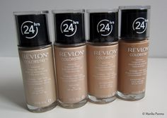 Revlon Colorstay Foundation review + swatches.