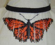 Orange Fringe Butterfly
