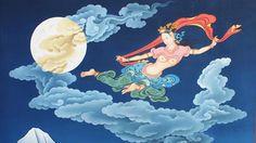 Dakini by Tenzin Norbu Dolpo