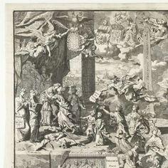Allegorie op de vrede van Rijswijk, 1697, Pieter van den Berge, 1697 - Rijksmuseum
