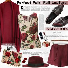 Perfect Pair: Fall Loafers by katjuncica on Polyvore featuring Dolce&Gabbana, Erica Lyons, Industrie and fallloafers