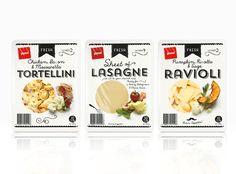 Pams Fresh Pasta  via @The Dieline
