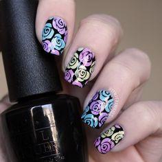 Sheer tints & stamping tutorial