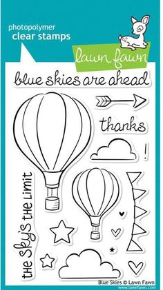 Blue Skies - Clear Stamps